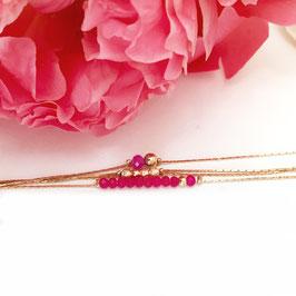 Bracelet THELMA / Fushia
