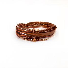 Bracelet FERNANDO / coloris Terracotta