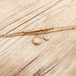 Bracelet AGATHA / Nude