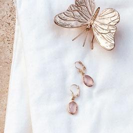 Boucles d'oreilles GIORGIA / Rose Opal