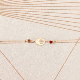 Bracelet PAULIN / Coloris Marsala