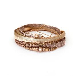 Bracelet FERNANDO / coloris Pyrite