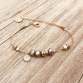 Bracelet PAULA / Pyrite