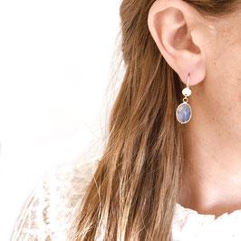 Boucles d'oreilles GIORGIA / Nude Doré