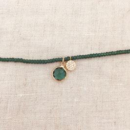 Bracelet MARCEL / Vert Tropique