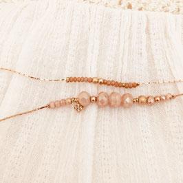 Bracelet MARIUS / beige Nude