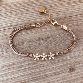 Bracelet MARCUS / Nude Doré