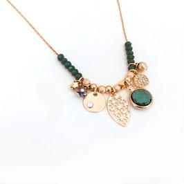 Collier ANNA / Vert Tropique