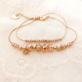 Bracelet MARIUS / Champagne