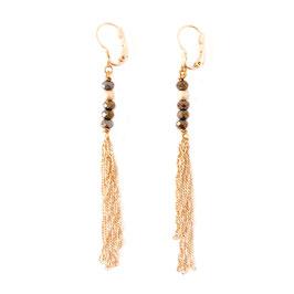 Boucles d'oreilles CHIARA / Metalic
