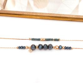 Bracelet MARIUS / Bleu d'hiver