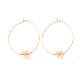 Boucles d'oreilles AVA / Grand modèle Doré