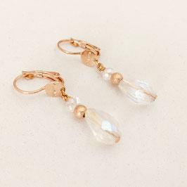 Boucles d'oreilles NICOLE / Cristal