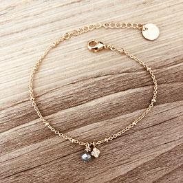 Bracelet LIV / Gris polaire