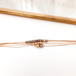 Bracelet THELMA / Gris foncé