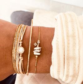 Bracelet ADÈLE / Vert Tropique