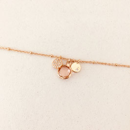 Bracelet IGOR / Rose poudré
