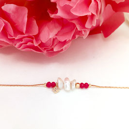 Bracelet BALI / Fushia