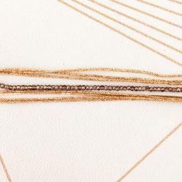 Bracelet LÉO / Gris bicolore