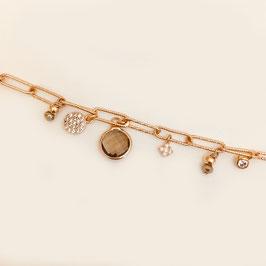 Bracelet HUGO / Pyrite
