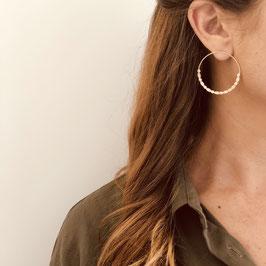 Boucles d'oreilles CELESTINE / Doré