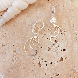Boucles d'oreilles SHELIE / Plaqué argent