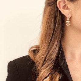 Boucle d'oreilles MONICA / Doré Petit modèle