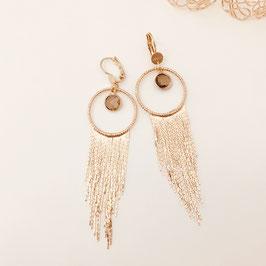 Boucles d'oreilles / Salomé Pyrite