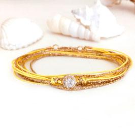 Bracelet ADÈLE / Jaune
