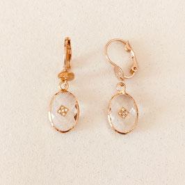 Boucles d'oreilles GIORGIA / CRISATAL