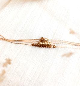 Bracelet THELMA / Camel