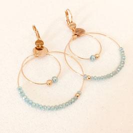 Boucles d'oreilles OLIVIA /  Caraïbe
