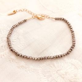 Bracelet OSCAR / Gris métallisé