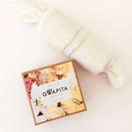 """COFFRET DUO """"Spécial Fête des Mamans""""/ Perles Blanc Argenté"""