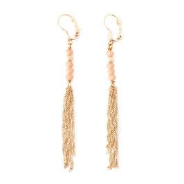 Boucles d'oreilles CHIARA / Nude Opal Doré