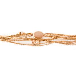 Bracelet JULES / Nude Doré