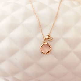 Collier ISIDOR / Rose poudré