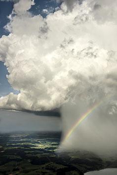 -WEDA-BUIDL-    Regenbogen,   Alu-Dibond