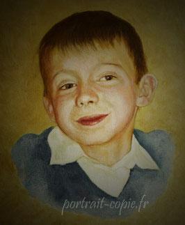 Portrait peinture à l'huile et ou acrylique