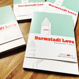 "Postkartenset ""Darmstadt Love"""