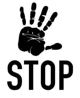 STOP - Hand