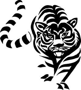 Tiger - 18 cm