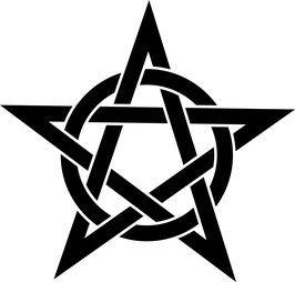 Pentagramm - 25 cm