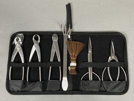 Werkzeugetui mit 7 Werkzeugen Edelstahl, Topqualität