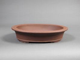 Bonsai - Schale, unglasiert, oval