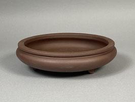 Bonsai - Schale, unglasiert, rund