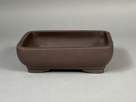 Bonsai - Schale, unglasiert, rechteckig