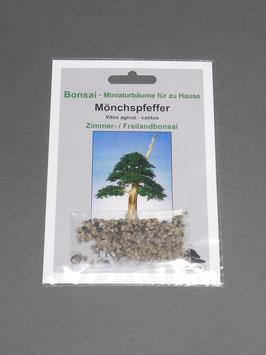 Mönchspfeffer, Vitex agnus - castus, Zimmerbonsai / Freilandbonsai, Geschenkidee, Bonsai - Samen im Geschenkkarton