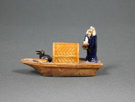 Figur Boot aus Ton