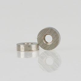 M3 Rundmutter Metall vernickelt 7x2mm